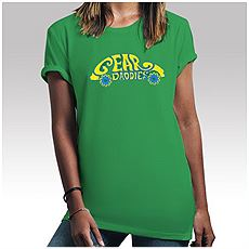 Womens Green VW Bug Shirt