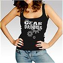 Womens Black Gear Daddies Tank