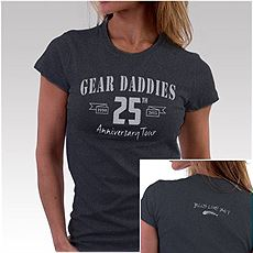 Womens 25th Anniversary Shirt